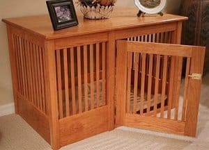 Dog Crate Oak